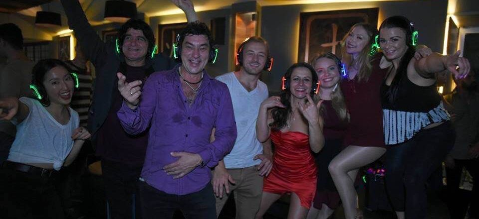 Silent Disco Headphones and Latin DJ for Hire