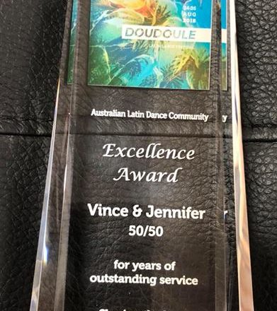 2018 Australian Latin Dance Community Excellence Award