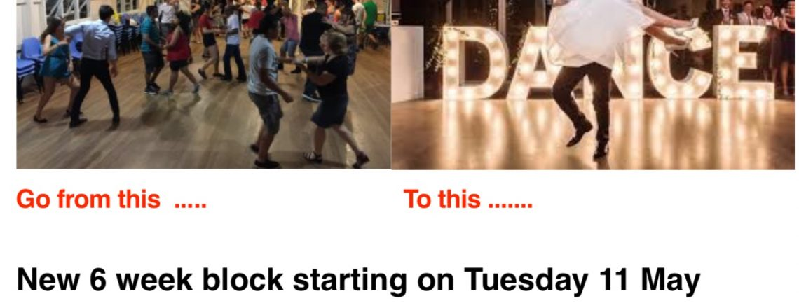 Salsa and Bachata classes : Block 3 starts on 11 May up to and including 15 June – at East Brisbane State School. Register now :)