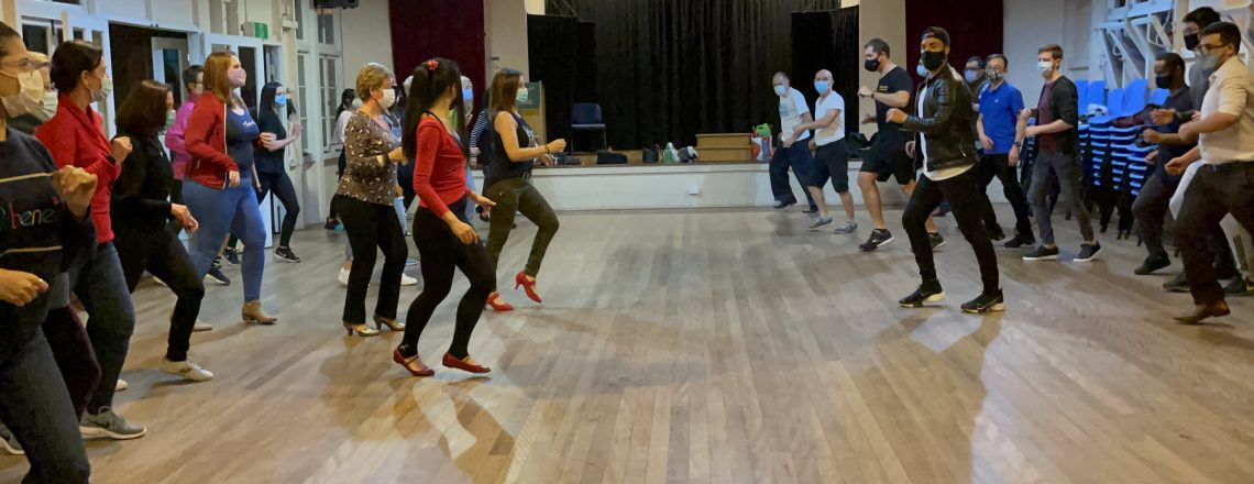 Our Salsa and Bachata classes are on Tuesday nights. Please see details below …..